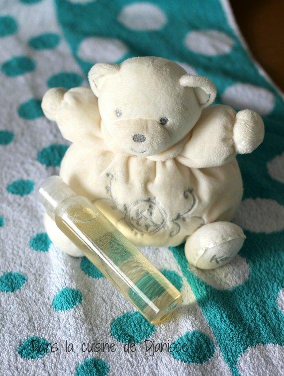 Shampooing pour bébé spécial croûtes de lait