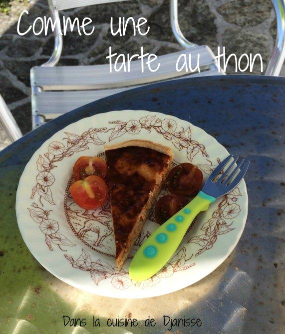 Recette pour bébé vegan : comme une tarte au thon